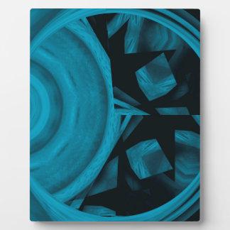 abstract kaleidoscope background plaque