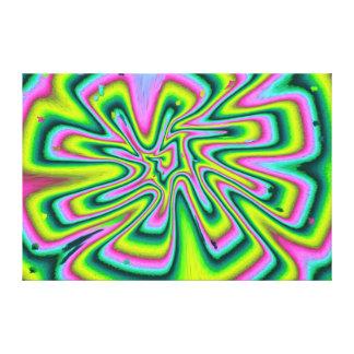 Abstract Kaleidoscope Canvas Print