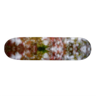 Abstract kaleidoscope figure 20 cm skateboard deck
