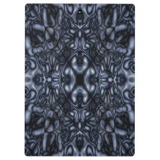 Abstract kaleidoscope figures pattern clipboard