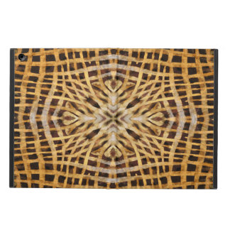 Abstract kaleidoscope fur pattern ipad case