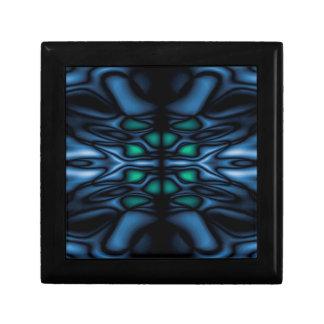Abstract kaleidoscope pattern gift box