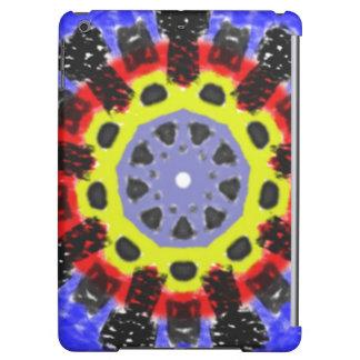 Abstract kaleidoscope pattern iPad air case