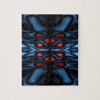 Abstract kaleidoscope pattern jigsaw puzzle