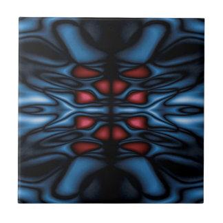 Abstract kaleidoscope pattern tile