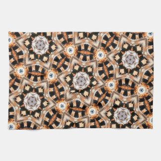 Abstract Kaleidoscope Tea Towel