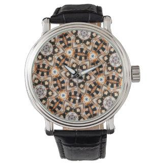 Abstract Kaleidoscope Watch