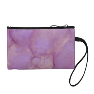 Abstract Key Coin Clutch