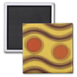 Abstract Kitchen Magnet