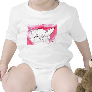 Abstract Kitty Rompers