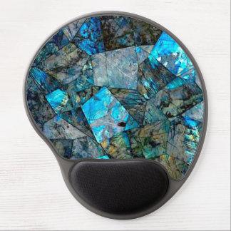 Abstract Labradorite Gems Art Gel Mousepad Gel Mouse Mat