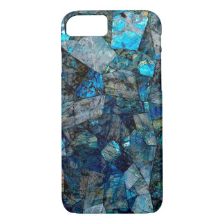 Abstract Labradorite Gems Mosaic Case iPhone 8
