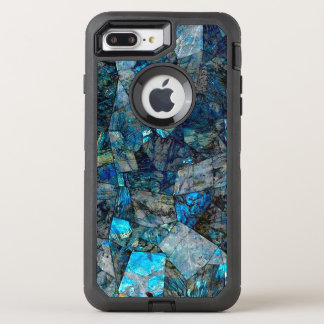Abstract Labradorite OtterBox Defender iPhone 7 Plus Case