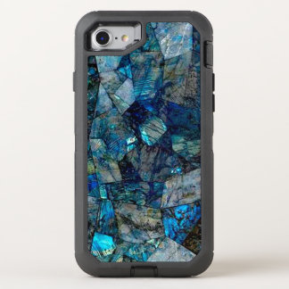 Abstract Labradorite OtterBox Defender iPhone 8/7 Case