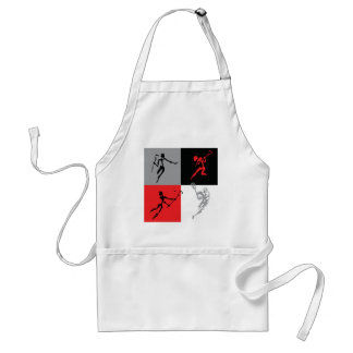 Abstract Lacrosse Standard Apron