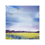 Abstract landscape artwork/canvas stretched canvas print