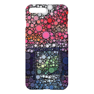 Abstract Landscape Circles Bubbles Modern Art iPhone 7 Plus Case