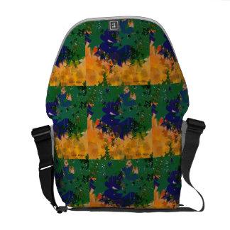 abstract landscape commuter bag