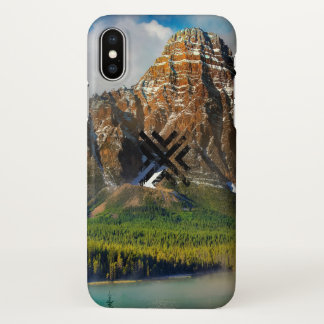 Abstract Landscape iPhone X Case