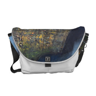 Abstract Landscape of Potosi Bolivia Courier Bags