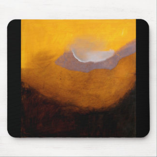 Abstract Landscape Oil Painting Mouse Pad