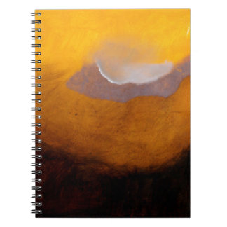 Abstract Landscape Painting with Cloud Notebook