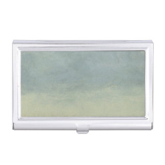 Abstract Landscape with Overcast Sky Business Card Holder
