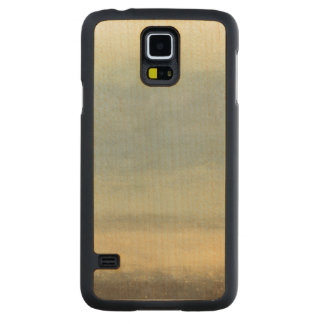 Abstract Landscape with Overcast Sky Carved Maple Galaxy S5 Case