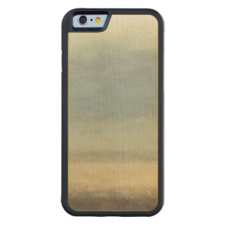 Abstract Landscape with Overcast Sky Carved Maple iPhone 6 Bumper Case