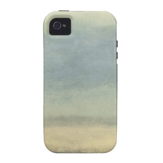 Abstract Landscape with Overcast Sky iPhone 4 Case