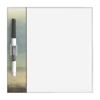 Abstract Landscape with Overcast Sky Dry Erase Board