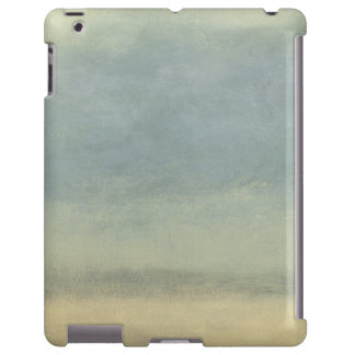 Abstract Landscape with Overcast Sky iPad Case