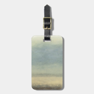 Abstract Landscape with Overcast Sky Luggage Tag