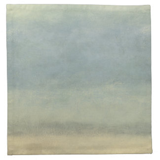 Abstract Landscape with Overcast Sky Napkin