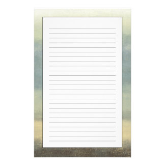 Abstract Landscape with Overcast Sky Stationery