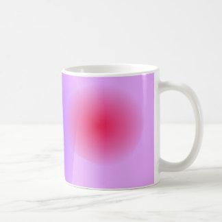 Abstract Lavender Basic White Mug