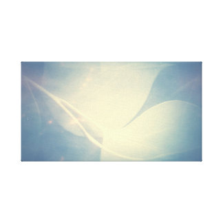 Abstract leaf Design Canvas Print