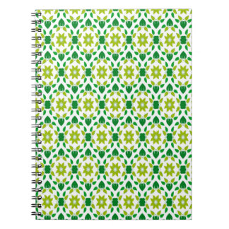 Abstract Leaf Design Notebooks