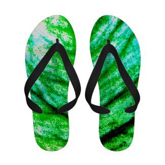 Abstract Leaf Flip Flops