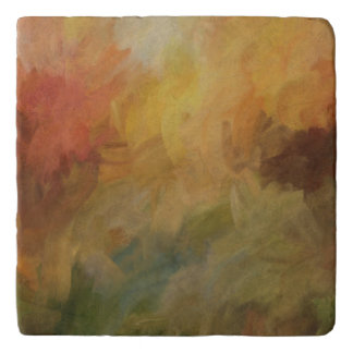 Abstract Leaves Trivet