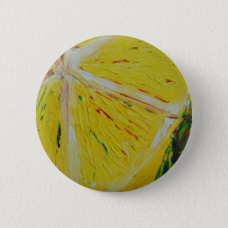 abstract lemon button