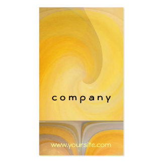 Abstract Lemon Popsicles 2 Pack Of Standard Business Cards