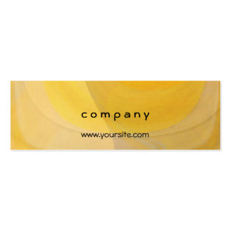 Abstract Lemon Popsicles Pack Of Skinny Business Cards