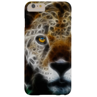 Abstract Leopard Face Barely There iPhone 6 Plus Case