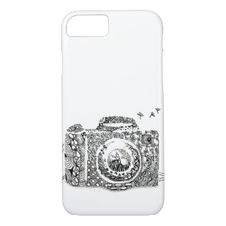 Abstract: life is like a camera iPhone 7 case