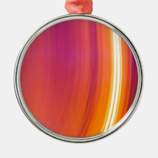 abstract light stripes christmas ornament
