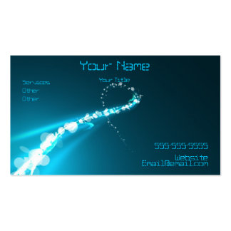 Abstract Lights and colors Business Card