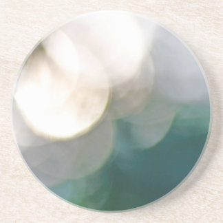 Abstract lights beverage coasters