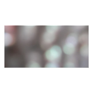 Abstract Lights in Soft Colors Photo Cards