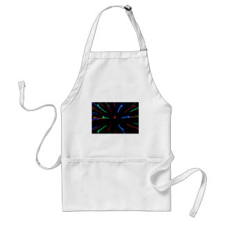 Abstract Lights Standard Apron